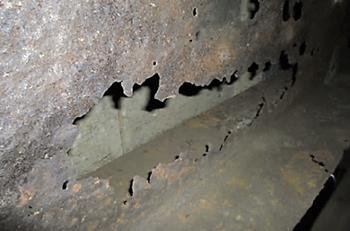 Corroded Steelwork